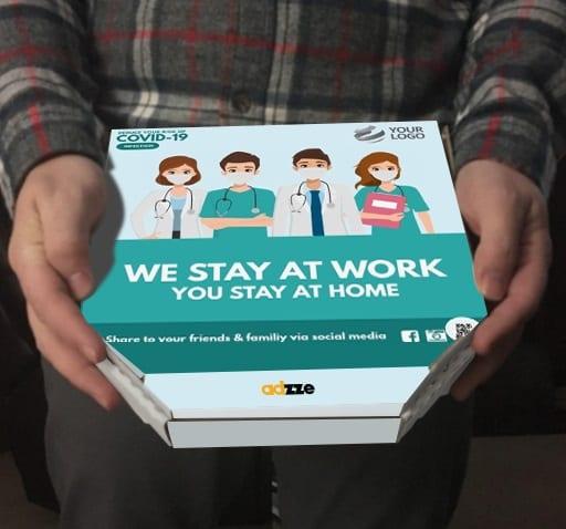 Pizza Boxes Marketing