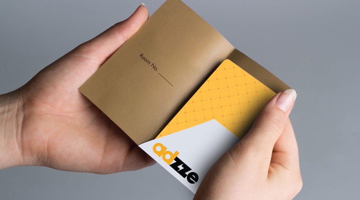 Advertising on Hotel Key Cards
