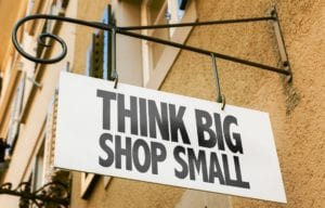 In-the-Hand Ads for Small Business