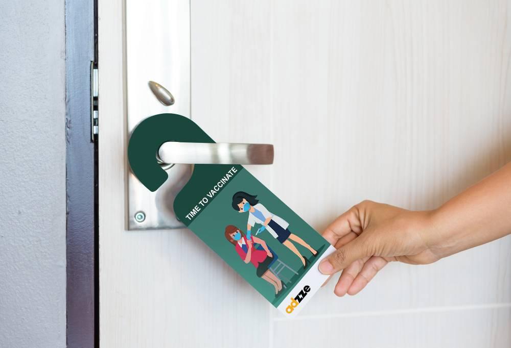 Advertising Door Hangers