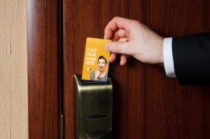 Advertising on Hotel Key Cards