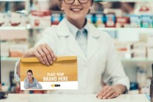 Advertising on Pharmacy Bags