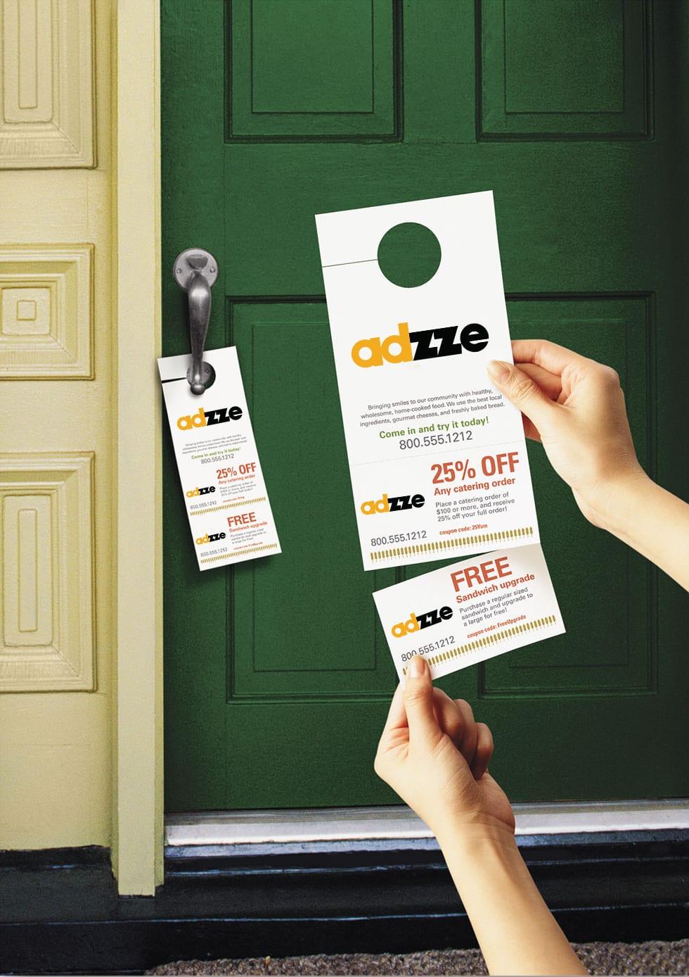 Marketing with Door Hangers