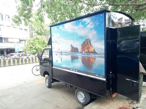 advertising trucks