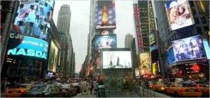 Billboard prices in New York