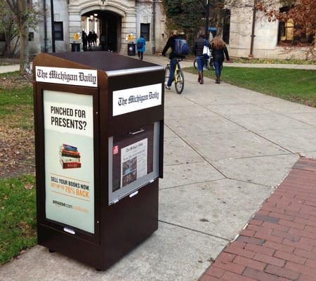 campus advertising
