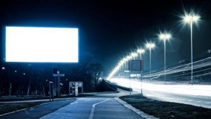 electronic billboards