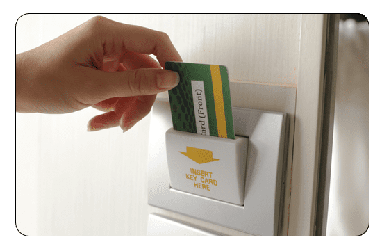 Key Card Hotel Advertisement