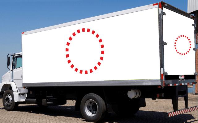 truck side advertising