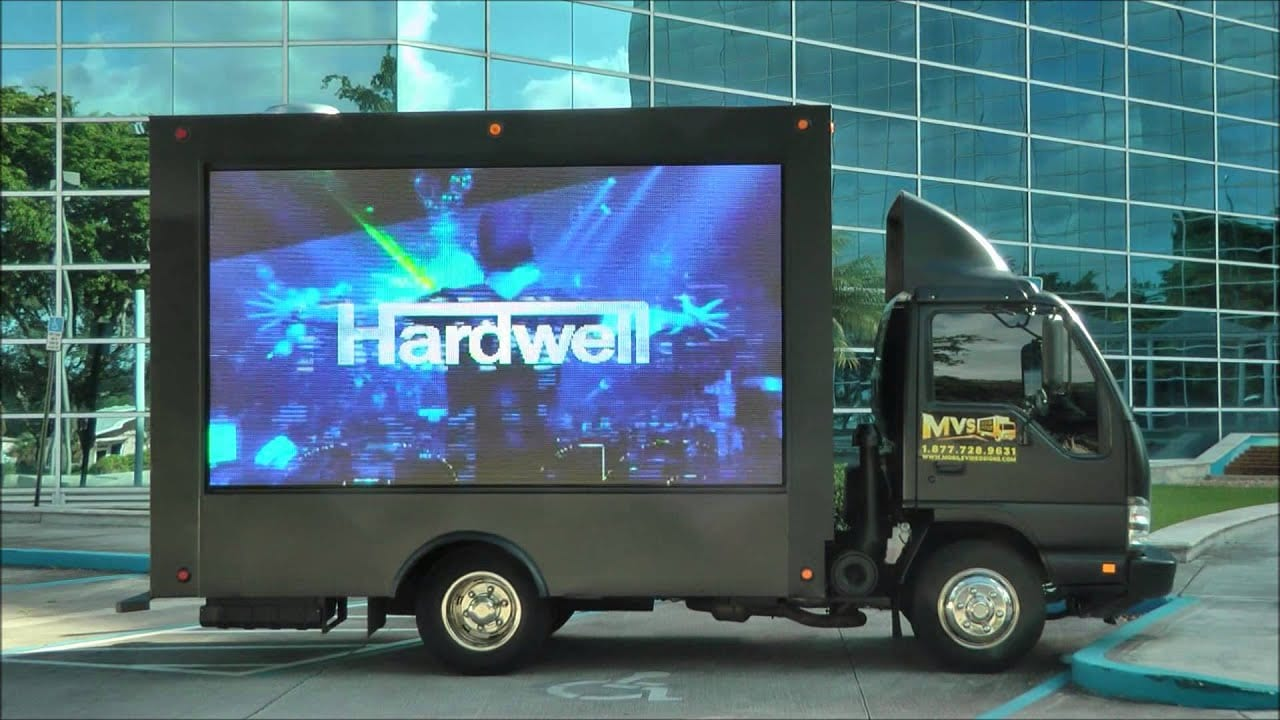 mobile billboard truck