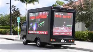 mobile truck advertising