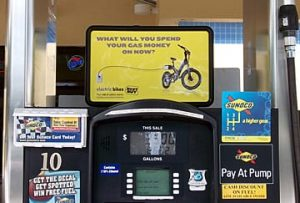 advertising on gas stations