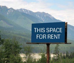 billboards for rent