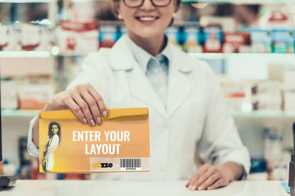 Pharmacy Bag advertising