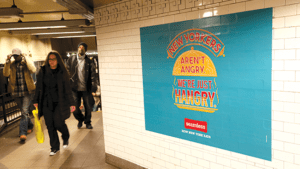 Subway ads are annoying