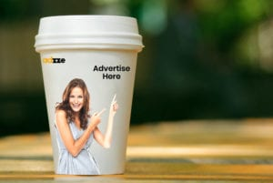 Coffee Cup Advertising
