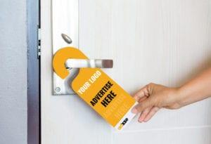 Door Hanger Advertisement