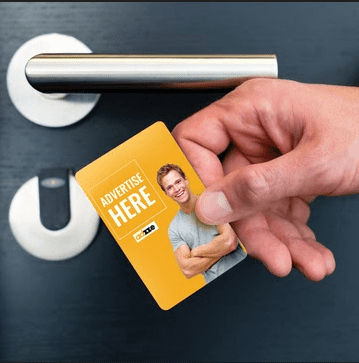 Key Cards Ad