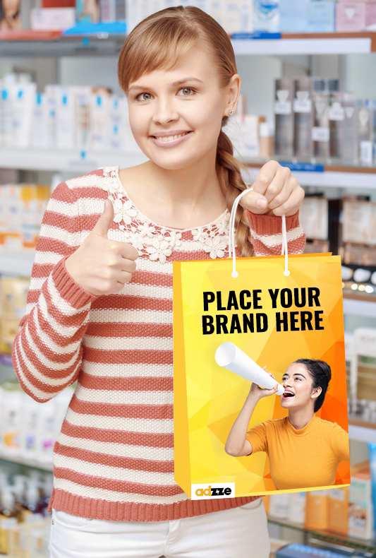 Pharmacy bags ad