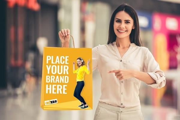 Bag Advertisement