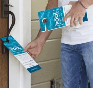 door hangers for advertising