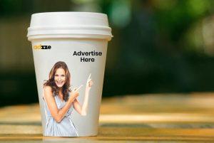 Ambient Advertising Using Coffee Mugs