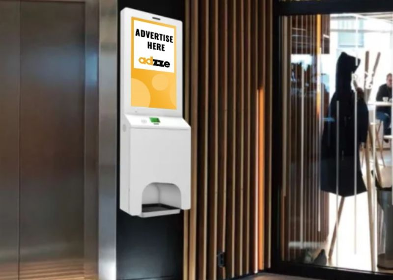 Branded Hand Sanitizer Stands