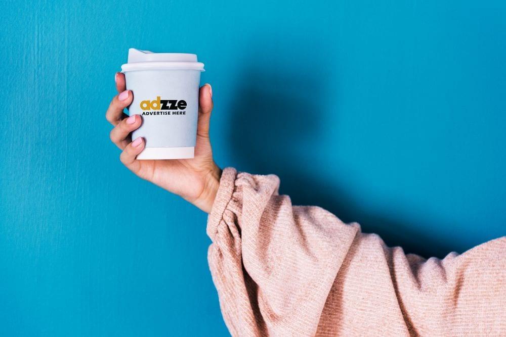 Coffee Cup Sleeves advertising
