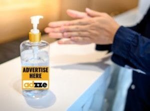 Hand Sanitizer Advertising