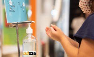 Hand Sanitizer Digital Display