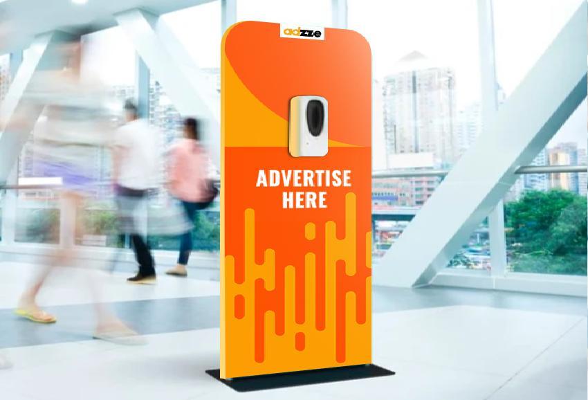 Sanitizing Station Marketing