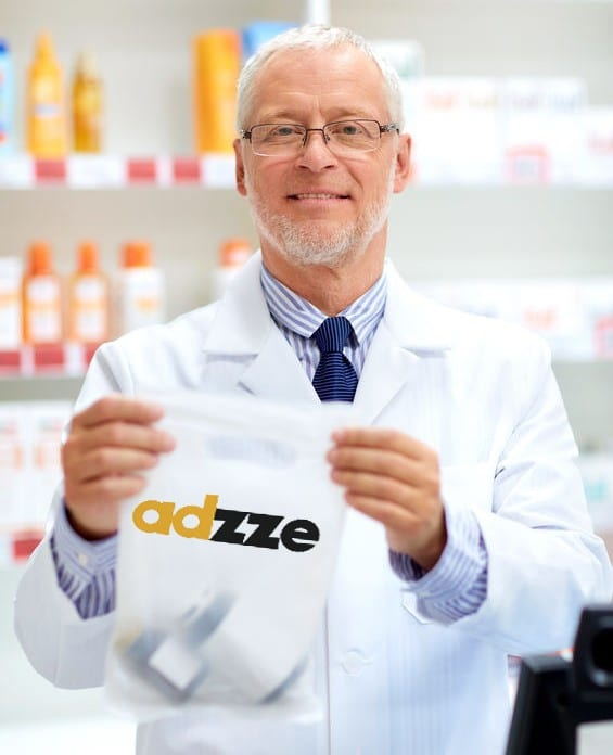 Pharmacy Bag Advertisements