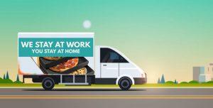 Truck-advertising vs Pizza box
