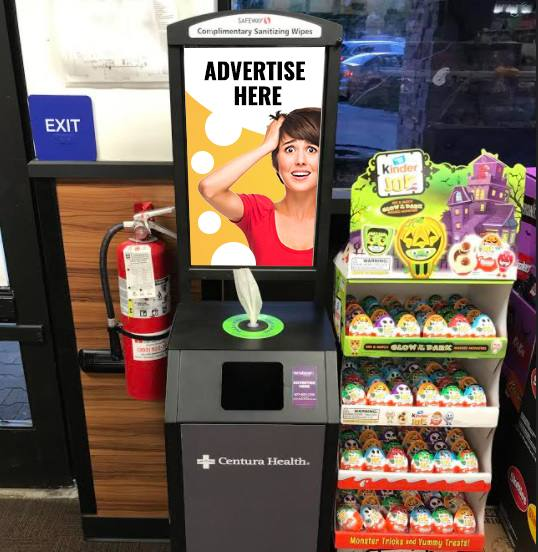 Activation with Sanitizing Kiosks