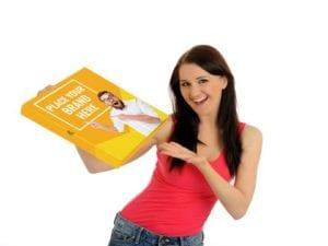 Pizza Box Advertisements