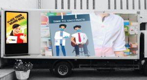 advertising trucks vs In-Home Advertising