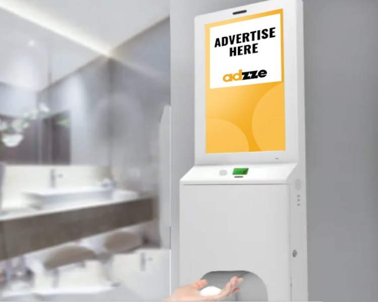Hand Sanitizer Stations For Advertising