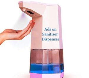 Sanitizing-displays