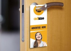 Door Hanging Advertising