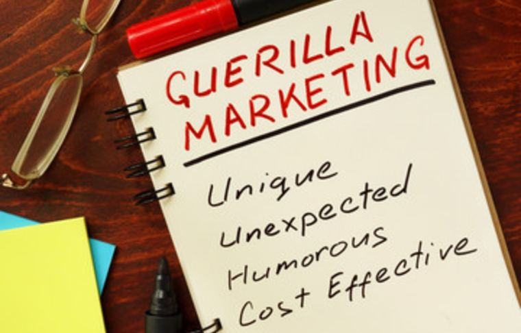 define guerilla marketing