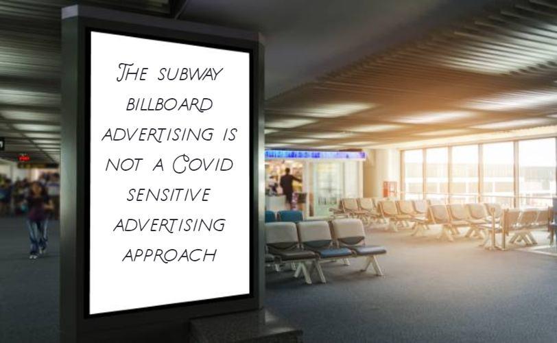 subway billboard advertising