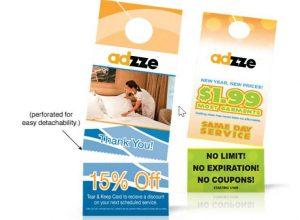 Door Hanger Marketing costs