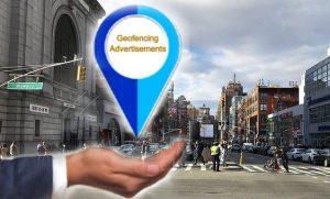 Geofencing advertisements
