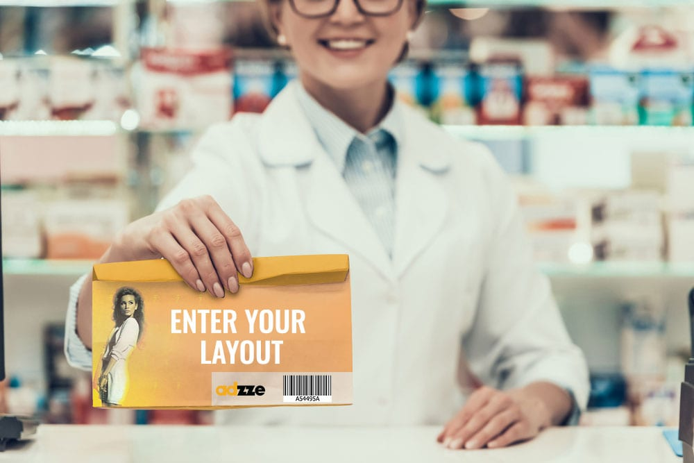 QR Code Marketing Campaigns on the pharmacy bags