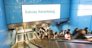 Ads in subways