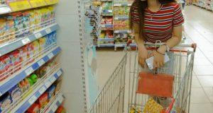 Advertising on shopping carts