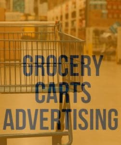 Grocery Carts Advertising