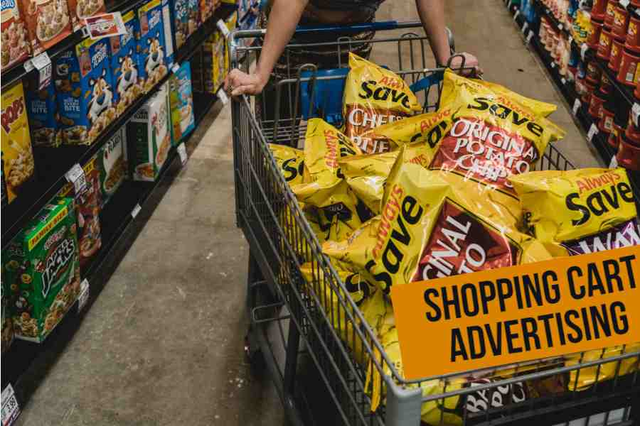 Marketers Use Shopping Cart Advertising
