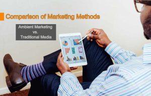 Ambient Marketing vs. Traditional Media
