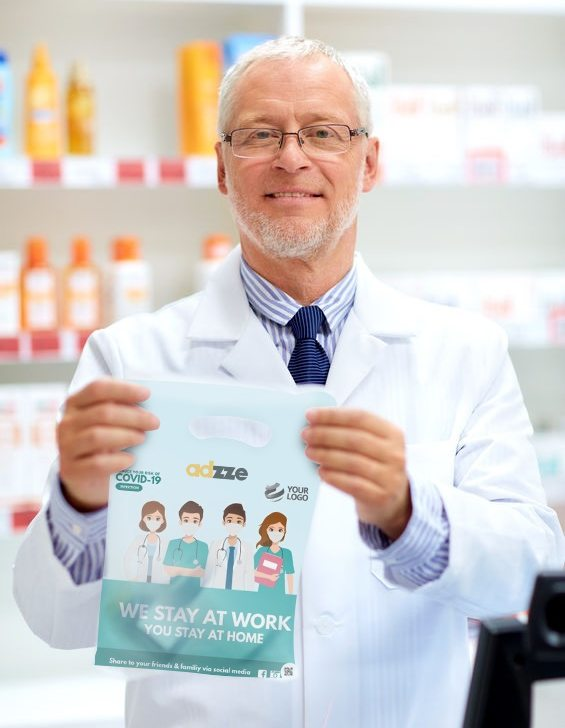 Advantages of Pharmacy Bag Advertising